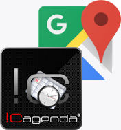 icagenda google maps