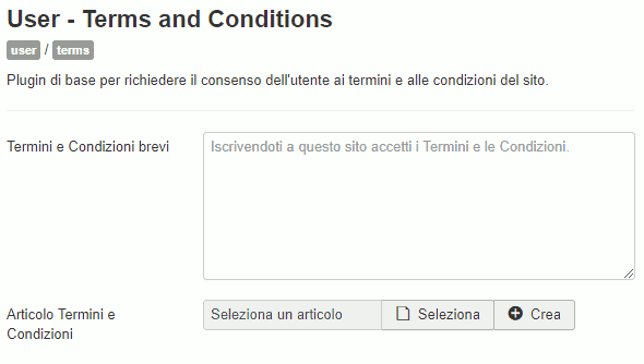 plugin user terms and conditions