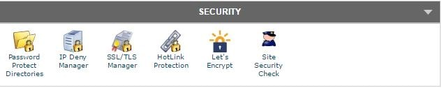 cpanel security ssl